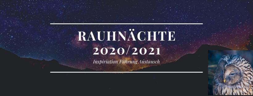 Rauhnächte 2020-2021